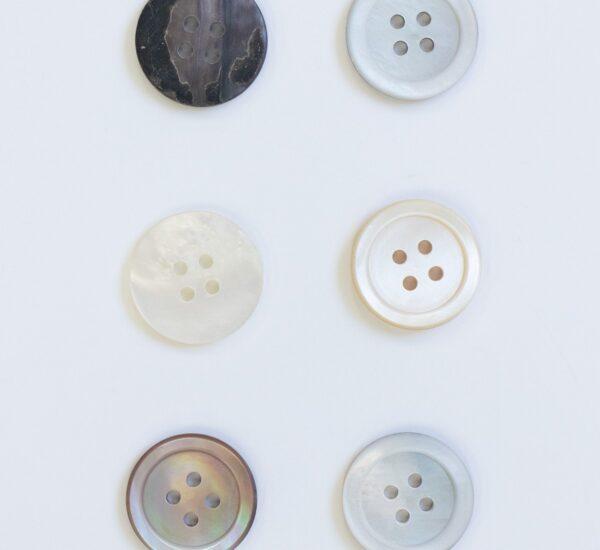 アパレル資材 ボタンVol.2 貝ボタン